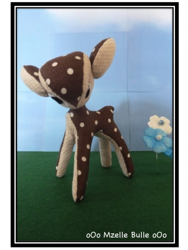 bambi, couture, création, Mzelle Bulle, mci, Marie Claire Idées, tissu, fabric, sew, idea,